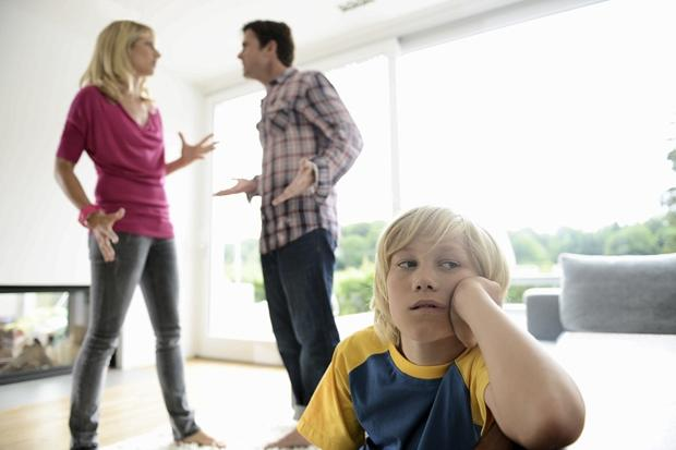 Parental split 'worse for rich children'